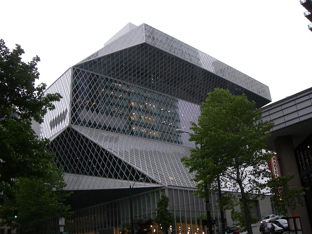 Библиотеката в Сиатъл