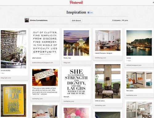 Pinterest – новата мания