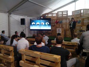 Представяне на startup на Webit.Festival 2016