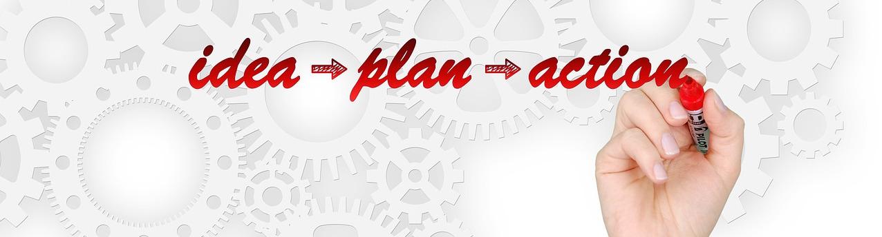 Идея, план, действие
