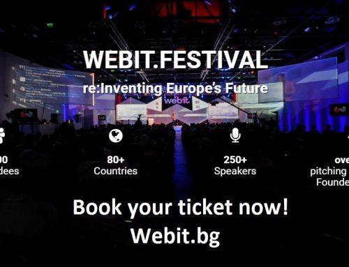 Задава се поредното издание на Webit.Festival в България през април