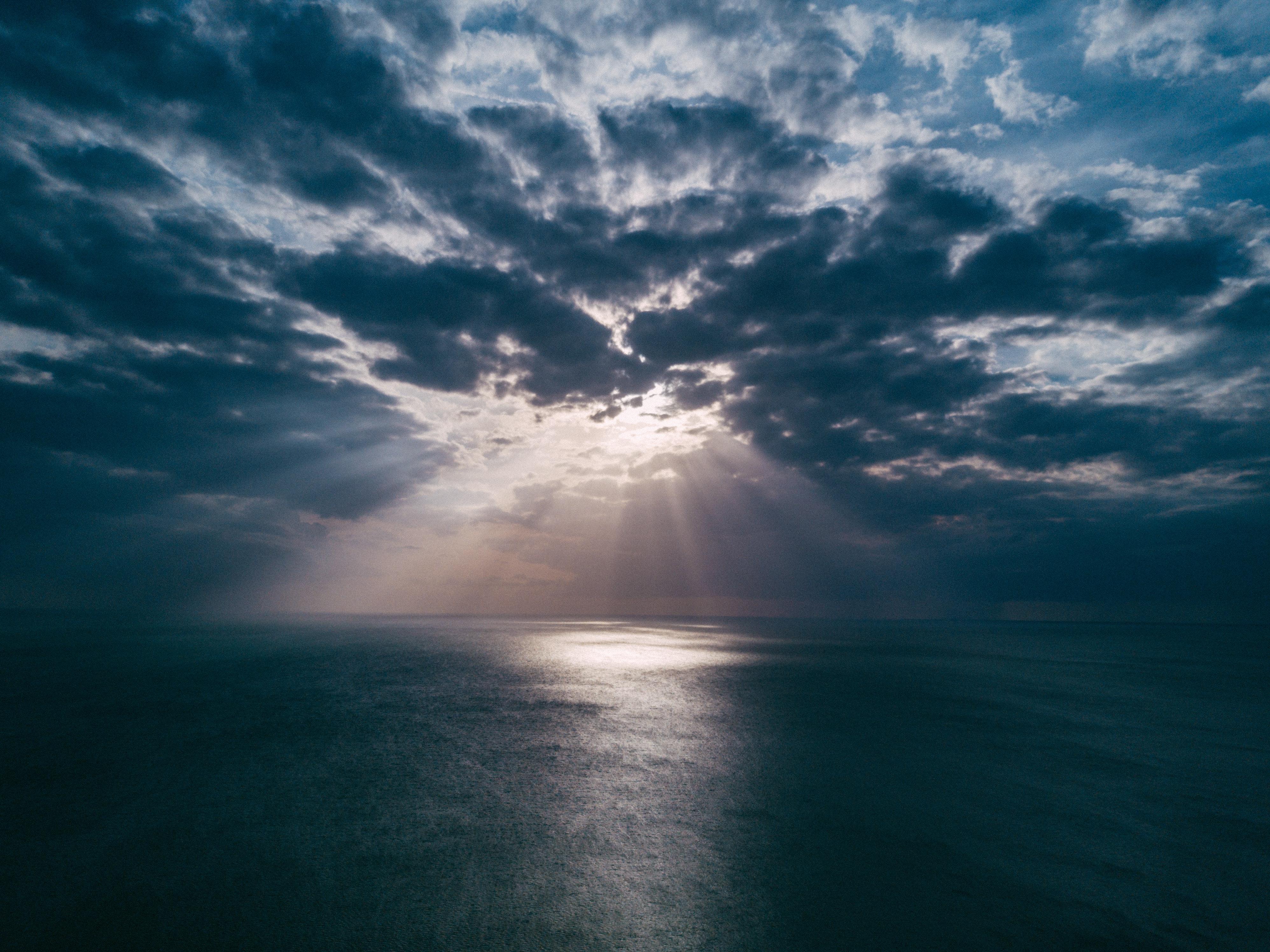 Слънце зад облаци
