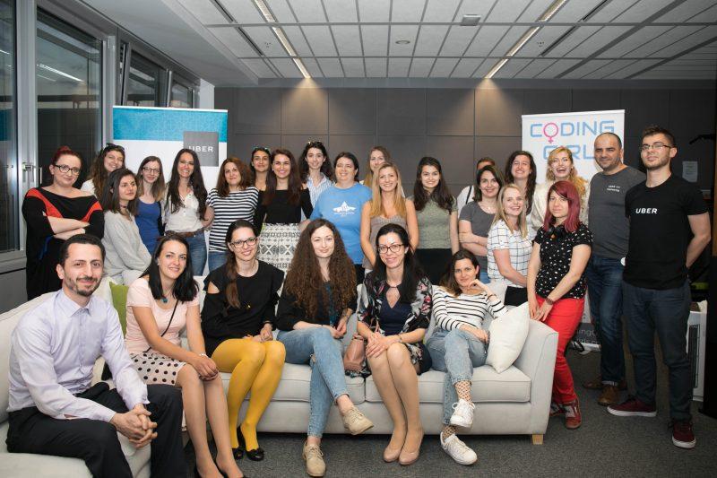 Coding Girls & Uber Kickoff